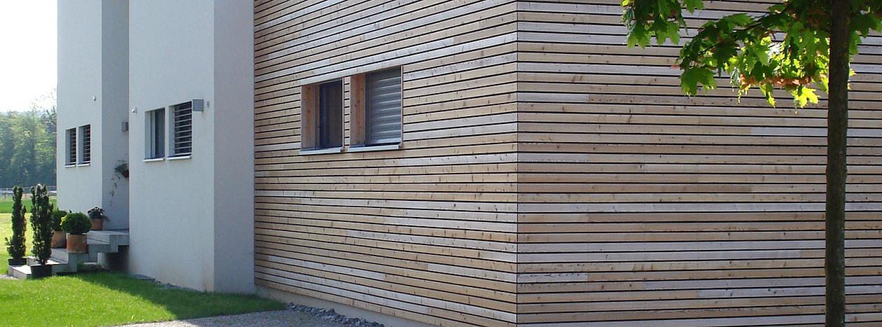 Fassadengestaltung holzoptik  Fassade, WDS, Holzfassade, Fassadendämmung Duderstadt, Kirchworbis